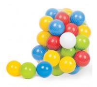 Шарики мягкие для сухого бассейна и манежа 50 штук 0263