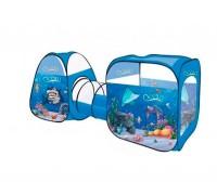 Палатка детская игровая с тоннелем Океан 8015AN