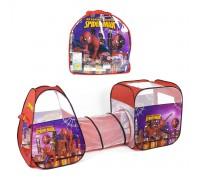 Палатка детская игровая с тоннелем Человек Паук 8015SP