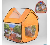 Палатка детская игровая Зоопарк 8009Zoo