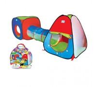 Палатка детская игровая с тоннелем М 2958
