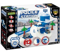 Автомобильный трек Wader Play Tracks City Полиция 53520