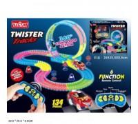 Светящийся мягкий трек Twister 134 детали 136