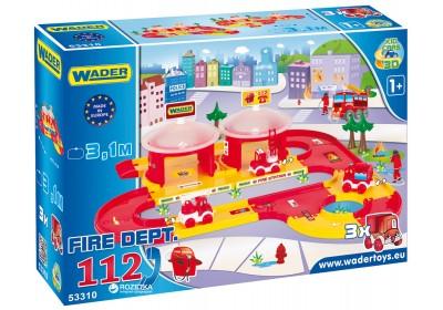 Парковка Пожарная команда Wader 53310