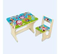 Комплект столик со стульчиком Baby Elit Смешарики СС2С