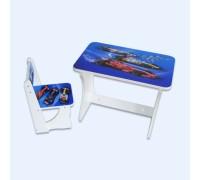Комплект столик со стульчиком Baby Elit Гонка формула СС2-Ф