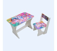 Комплект столик со стульчиком Baby Elit ЛОЛ модные куклы СС2-МК