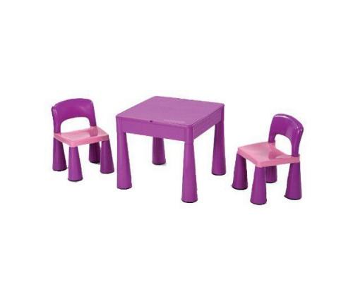 Детский столик с 2 стульчиками Tega Baby Mamut фиолетовый 899V