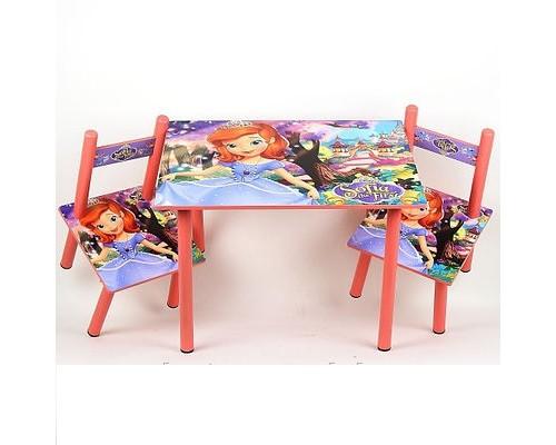 Комплект детский стол 2 стула София