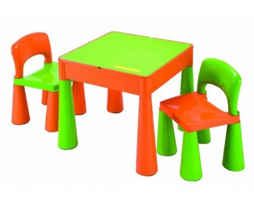 Детский столик с 2 стульчиками Tega Baby Mamut зеленый 899G