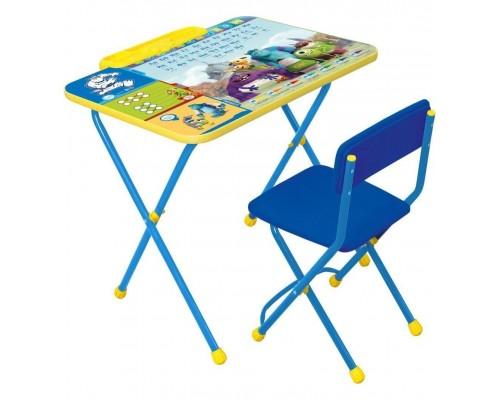 Комплект столик со стульчиком Nika Kids Университет монстров Д2У