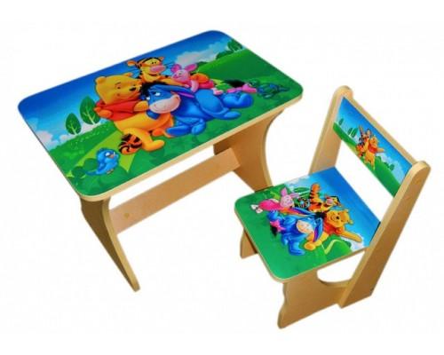 Комплект столик со стульчиком Baby Elit 5 цветов