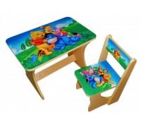 Комплект столик со стульчиком Baby Elit Винни пух