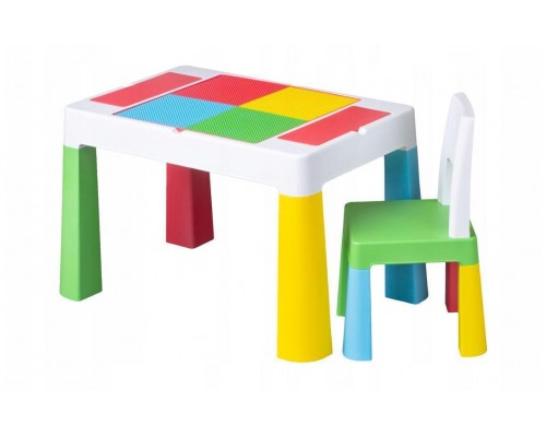 Детский столик со стульчиком Tega Baby Mamut Multifun разноцветный MF-001-134