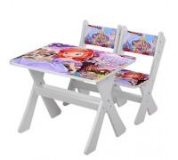 Комплект детский стол 2 стула София M2100-07
