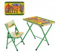 Столик со стульчиком складной детский комплект A19-NJ