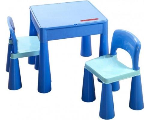 Детский столик со стульчиком Tega Baby Mamut голубой MT-001