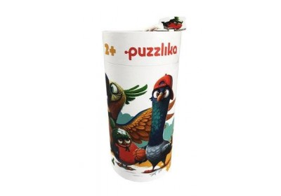 Пазлы 5 в 1 Птицы Puzzlika 14255 25 деталей