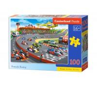 Пазлы Castorland Формула гонки 100 элементов В-111046