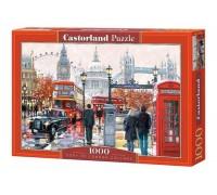 Пазлы Castorland Коллаж Лондон 1000 элементов С-103140