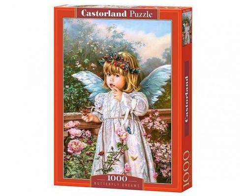 Пазлы Castorland Бабочка мечты 1000 элементов С-103232