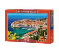 Пазлы Castorland Город и порт, Dubrovnik, Croatia 1000 элементов С-103720