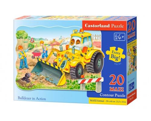 Пазлы Castorland maxi Большая стройка 20 элементов С-02139