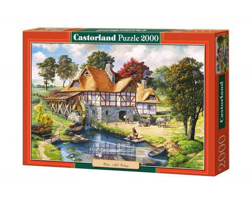 Пазлы Castorland Водяная мельница 2000 элементов С-200498