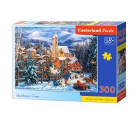 Пазлы Castorland Зимняя сказка 300 элементов В-030194