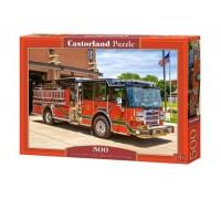 Пазлы Castorland Пожарная машина 500 элементов В-52660