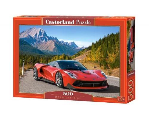Пазлы Castorland Автомобиль в горах 500 элементов В-52967