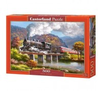 Пазлы Castorland Паровоз 500 элементов В-53452