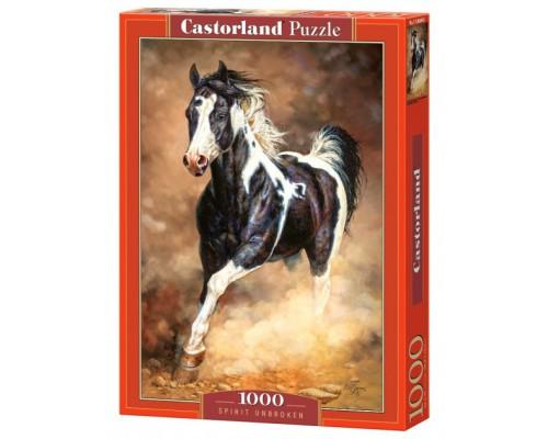 Пазлы Castorland 1000 элементов Дух свободы Бегущая лошадь C-103690