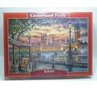 Пазлы Castorland пейзаж Вдохновение Лондона 1000 элементов С-104437