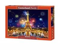 Пазлы Castorland Париж Очарование ночей 1000 элементов С-103997