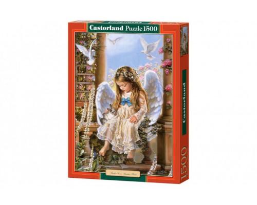 Пазлы Castorland 1500 элементов Девочка ангел С-151165