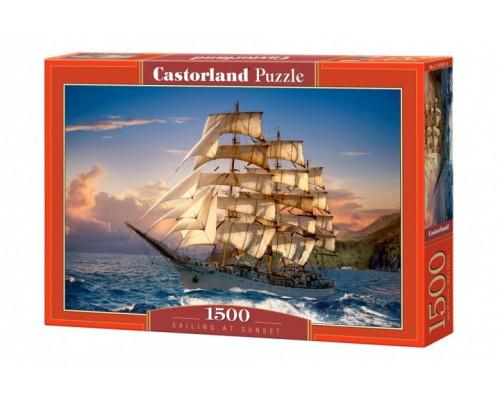 Пазлы Castorland 1500 элементов Парусник С-151431