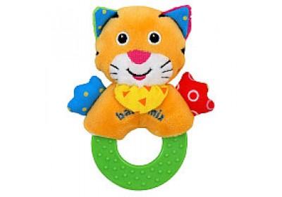 Игрушка с прорезывателем Тигр Baby mix TE-8377E-12T