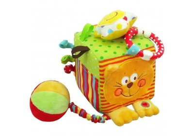 Развивающий мягкий куб Baby mix TE-8561-10C