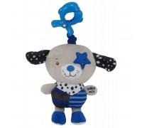 Плюшевая игрушка Baby Mix P1212-EU00 Песик пират