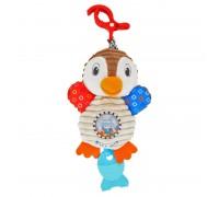 Игрушка подвеска с вибрацией Alexis Baby Mix Пингвин TE-8248-28
