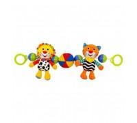Погремушка растяжка на коляску Baby Mix Тигр и Лев EF-TE-8377-48