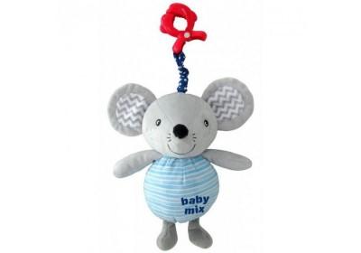 Игрушка подвеска музыкальная Мышка с клипсой Baby Mix TK/P/1218-EU00