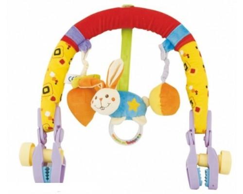 Дуга с игрушками для коляски 81457