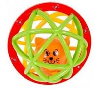 Погремушка-шарик Шустрый котенок 049858