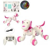 Собака робот интерактивная на радиоуправлении Happy Cow 777-338 Smart Dog розовая