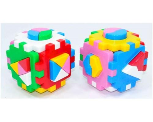 Куб логика комби Умный малыш 2476 (2 в комплекте)
