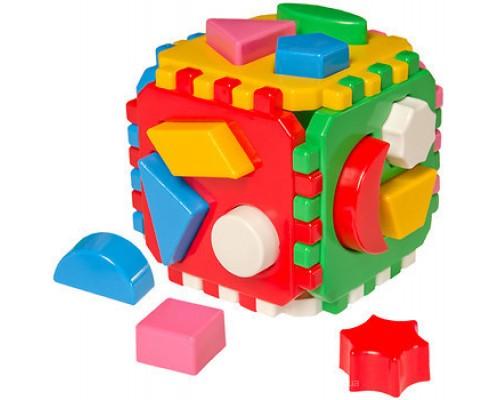 Куб логика Умный малыш 0458