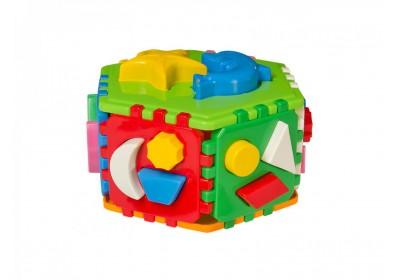 Куб логика Умный малыш Гиппо 2445