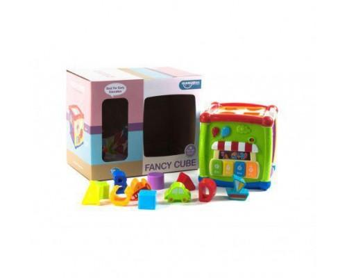 Интерактивный сортер-куб Fancy Cube HE0520